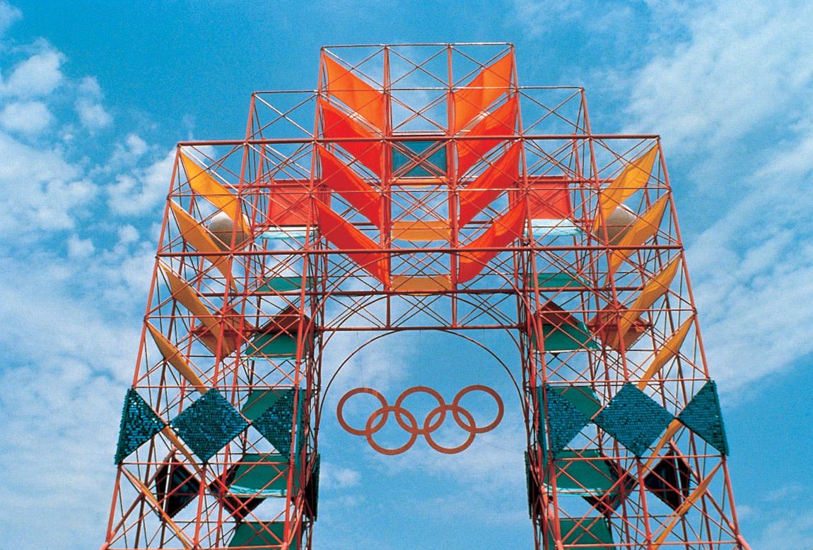Olympics 1984 Identity, done by Deborah