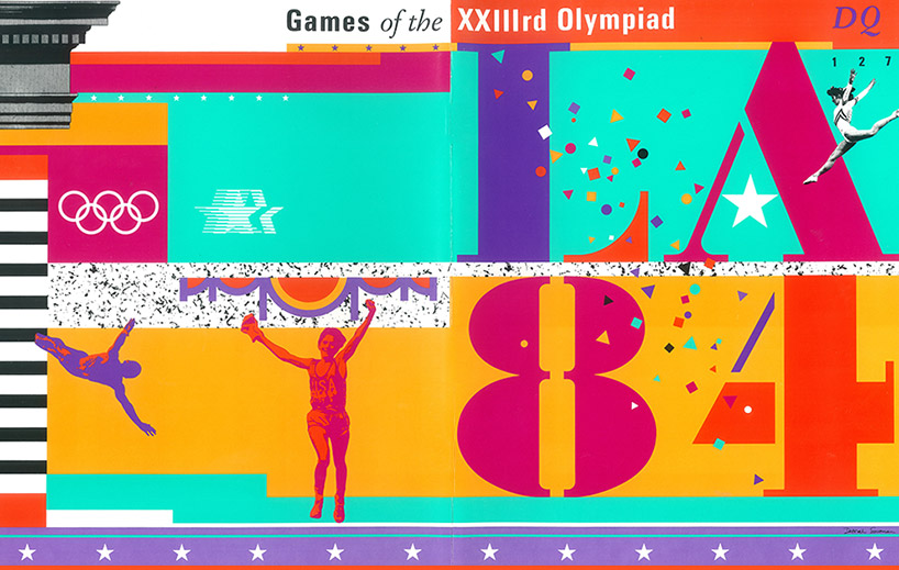 Sussman/Prejza designed the identity for the 1984 olympic games held in Los Angeles