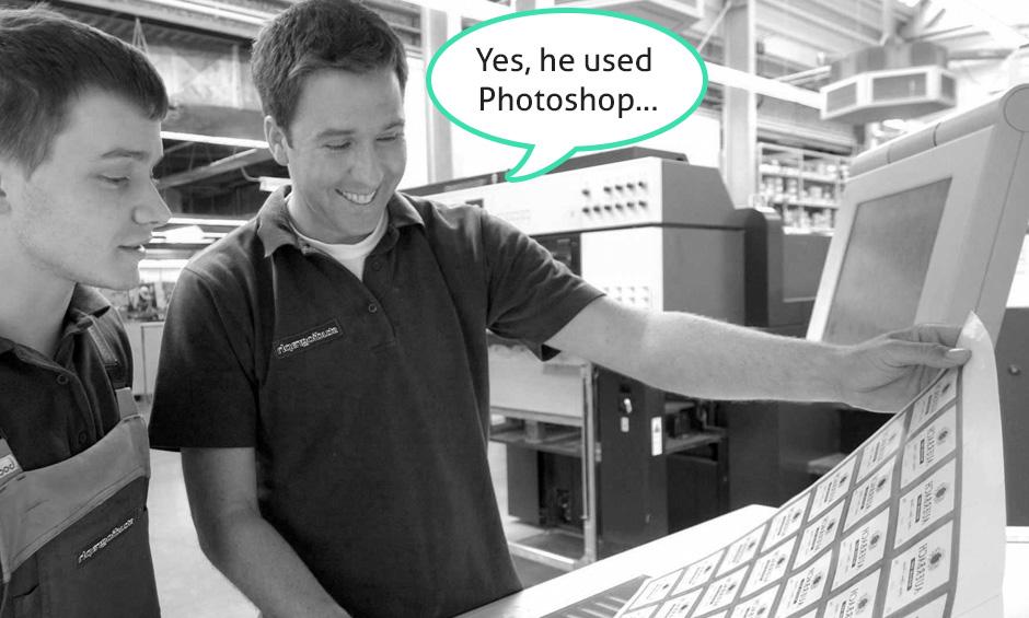 Avoid Photothop for Print Design