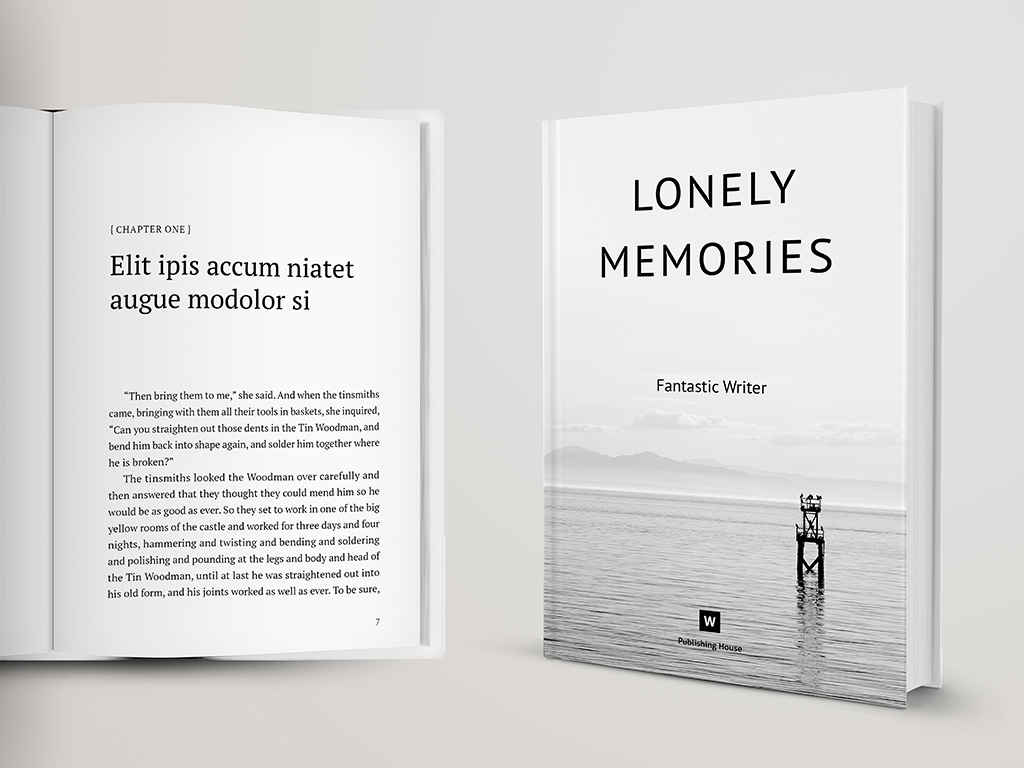 Novel And Poetry Book Template  U2013 Themzy Templates