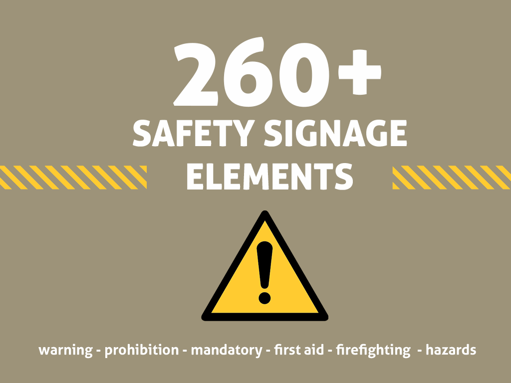 promo-safety-signs-vector